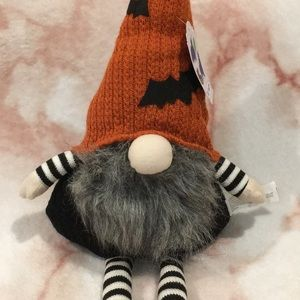 Halloween Gnome Fall Home Decorative Doll NWT